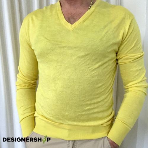 b452913b51e8 Gaudi pánsky sveter žltý v.L - designershop