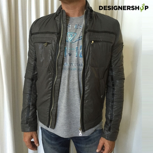 Scervino pánska čierna páperová zimná bunda v.M - designershop 44141c4ffc5