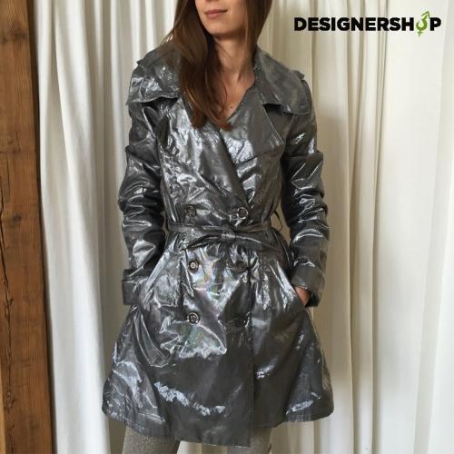a12f3c42c Guess by Marciano dámsky strieborný kabát - designershop
