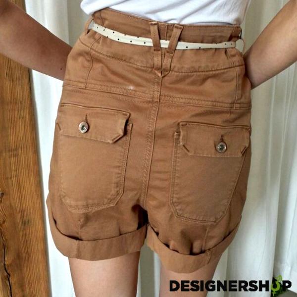 42ff81334b72 Guess dámske krátke nohavice s vysokým pásom - designershop