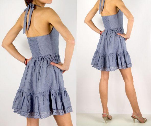 Guess letné korzetové šaty - designershop 73b8c3d5f03