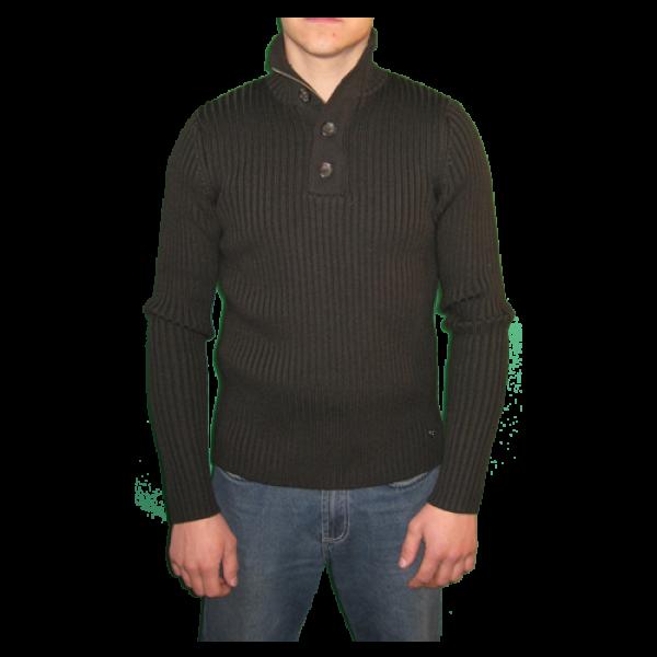 65d096311fb9 Guess by Marciano hnedý pánsky sveter - designershop