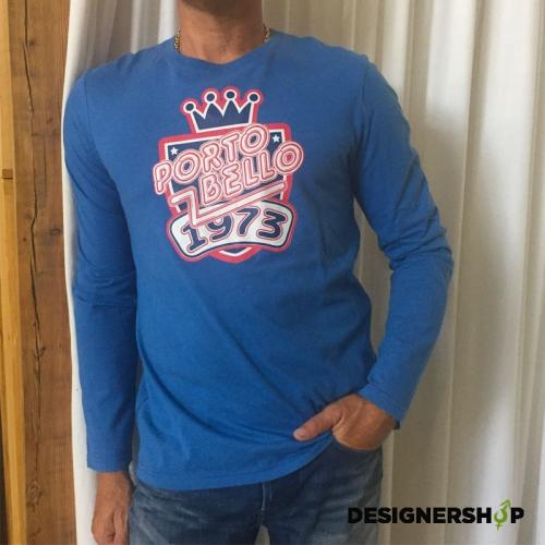 95df3d459d8f Pepe jeans pánske modré tričko s potlačou Portobello - designershop