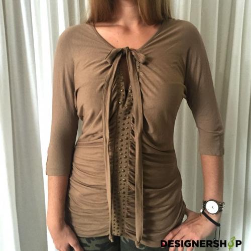 Relish dámske hnedé tričko vel S c41523ef5a6