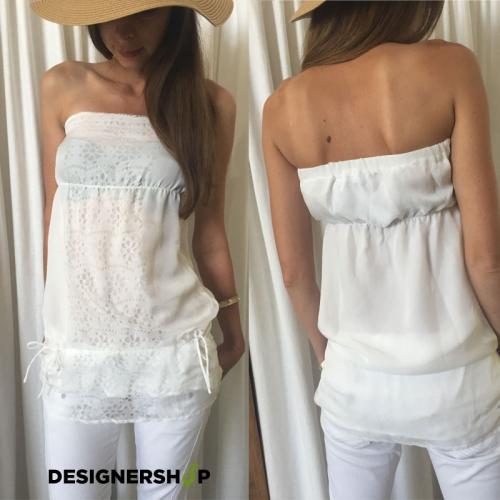 65b1def6f8 Relish biely top White - designershop