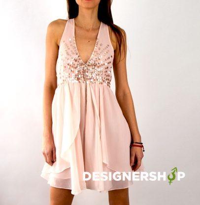 ea344450b2 Relish púdrovo ružové šaty Bleis v.S - designershop