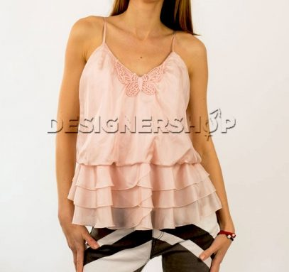 b13230be62 Relish ružový hodvábny top Menos v.38 - designershop