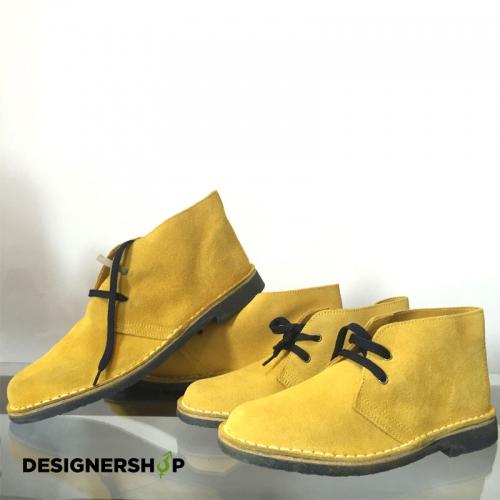 Rodriguez pánske žlté kožené topánky - designershop 613fcebd18
