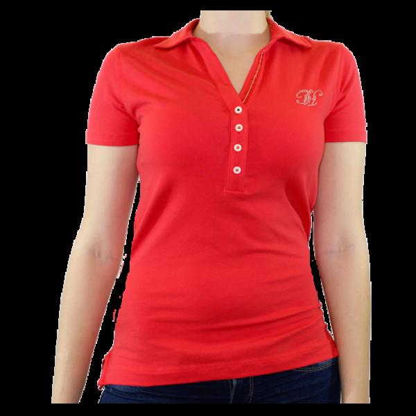 4936a014e401 Tommy Hilfiger oranžové dámske polo tričko v.S - designershop
