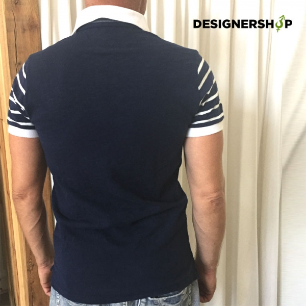 Tommy Hilfiger modré pánske polo tričko v.M - designershop 2d5c2a7fd78