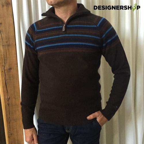Tommy Hilfiger vlnený sveter brown v.S - designershop 7c787d0b26b