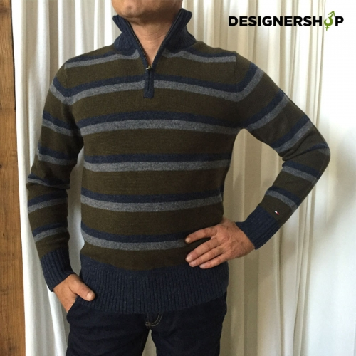 Tommy Hilfiger pánsky vlnený sveter v.S - designershop 8e2d6147763