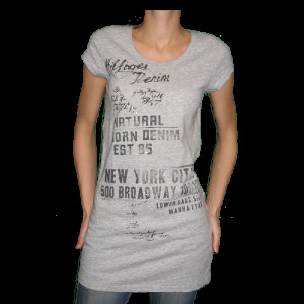 Tommy Hilfiger sivé dámske tričko v.S - designershop 5e39e9835f7