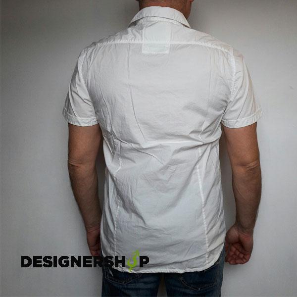 75fbc3b2c9 Guess pánska biela košeľa - Designershop outlet so značkovým oblečením a  doplnkami